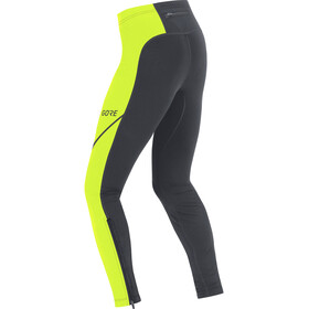 GORE WEAR R3 Thermo Tights Herren black/neon yellow